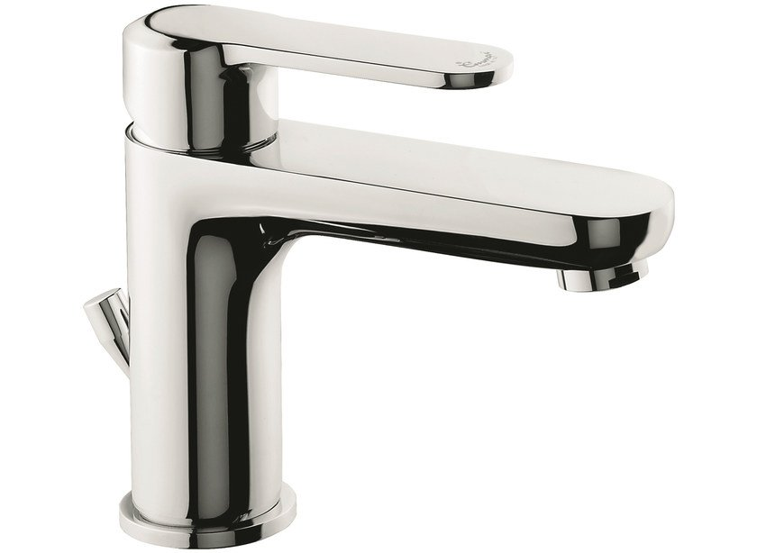 Countertop washbasin mixer with automatic pop-up waste 77003 | Washbasin mixer by EMMEVI RUBINETTERIE