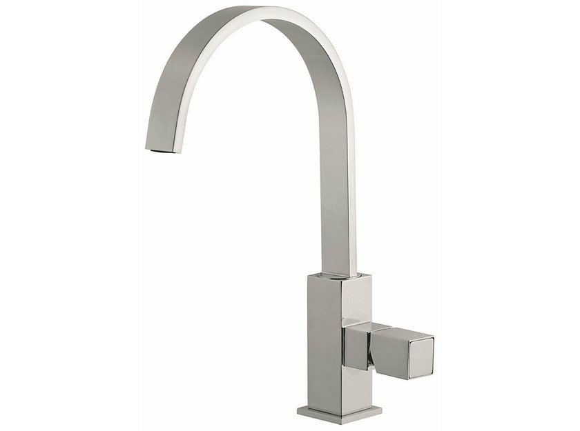 Countertop kitchen mixer tap with swivel spout 47007 | Kitchen mixer tap by EMMEVI RUBINETTERIE