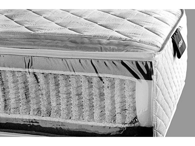 Packed springs washable orthopedic mattress BOB by Meridiani