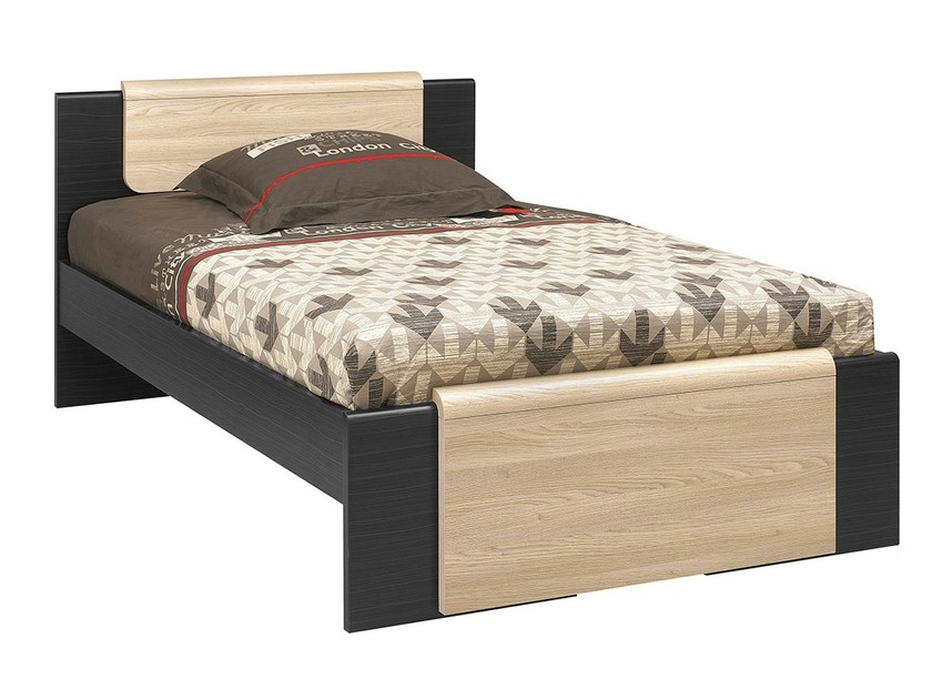 Wooden bed URBAN | Wooden bed by GAUTIER FRANCE