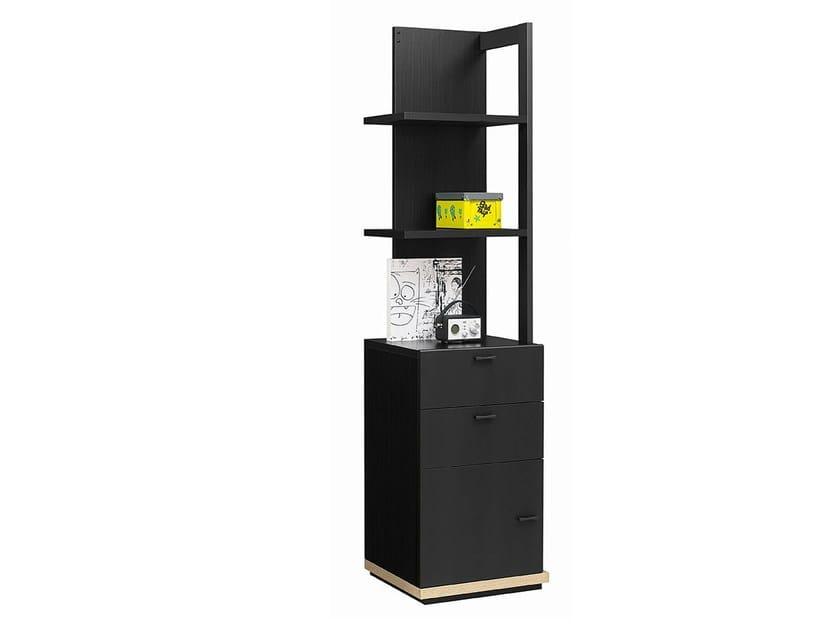 Open Freestanding kids bookcase URBAN | Freestanding kids bookcase by GAUTIER FRANCE