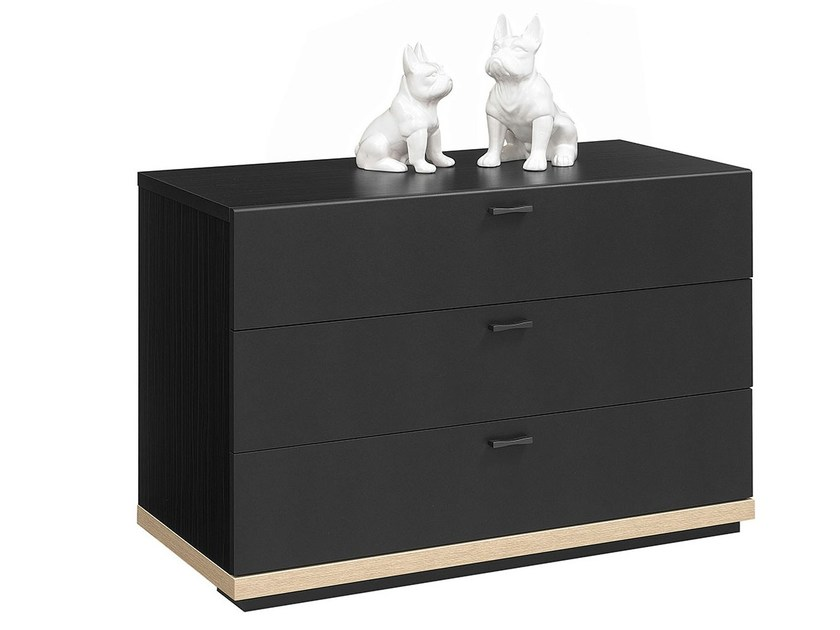 Wooden chest of drawers URBAN | Chest of drawers by GAUTIER FRANCE