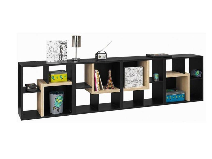 Open Freestanding kids bookcase URBAN - 4 by GAUTIER FRANCE