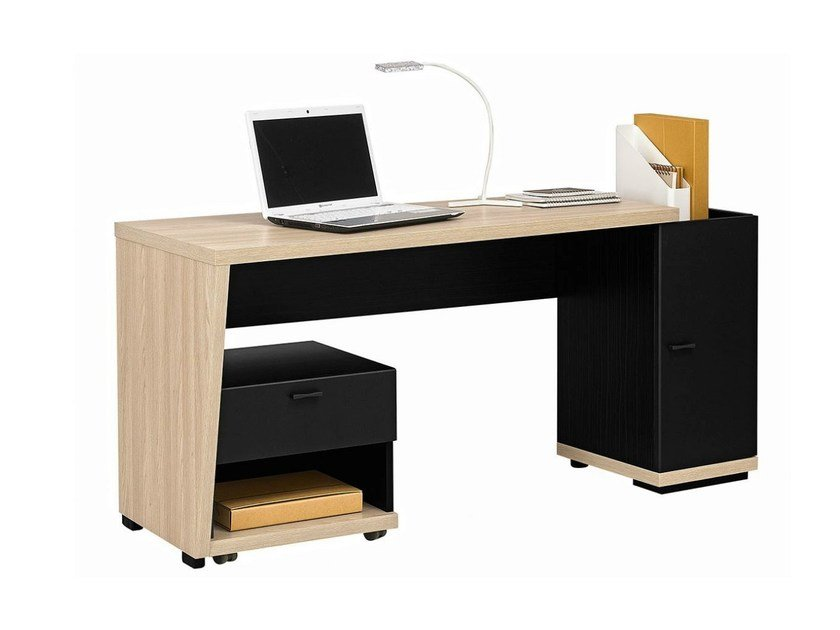 Rectangular wooden Kids writing desk URBAN - 11 by GAUTIER FRANCE