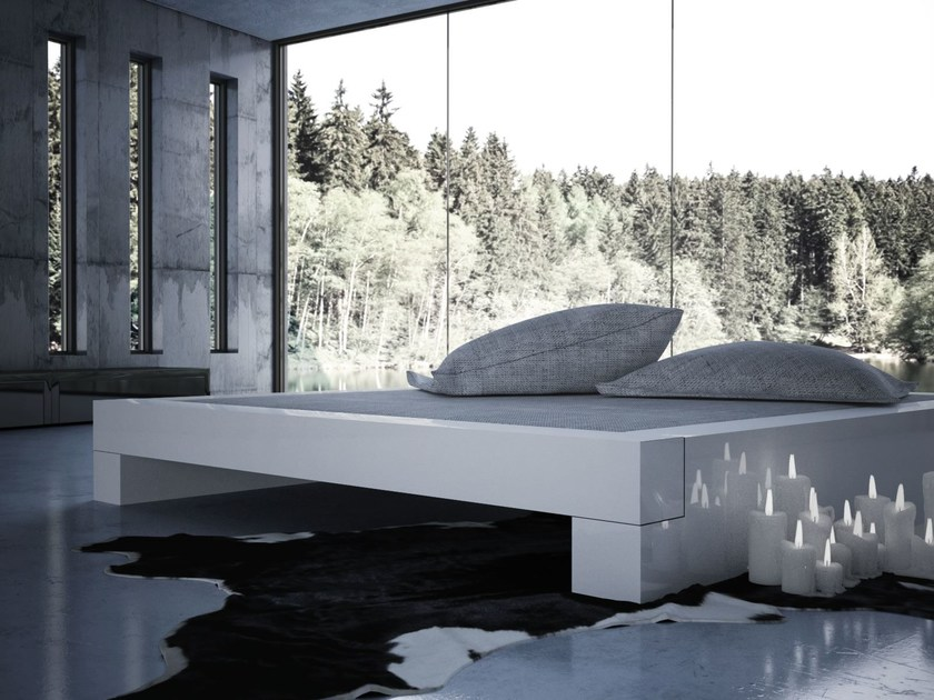 Contemporary style double bed SOMNIUM by RECHTECK