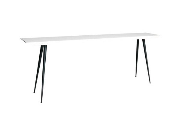 Lacquered rectangular wooden console table CONSTANCE by Ph Collection