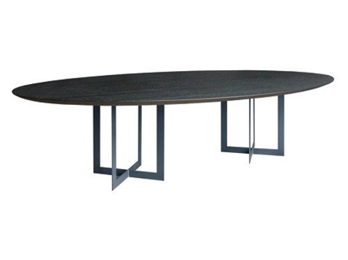 Oval wooden table FALCON by Ph Collection