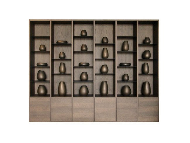 Wooden bookcase FINLEY by Ph Collection