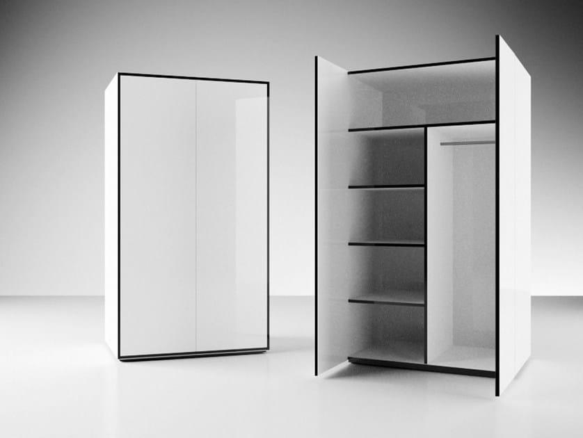Laminate office storage unit / office shelving ADIUTOR by RECHTECK