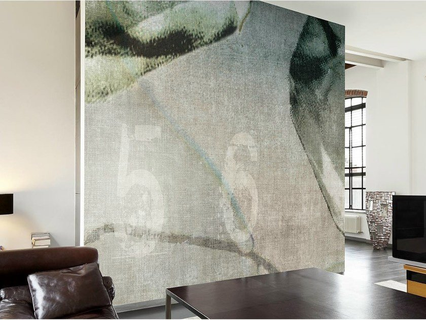 Panoramic wallpaper LIGHT CRYSTAL by N.O.W.  Edizioni