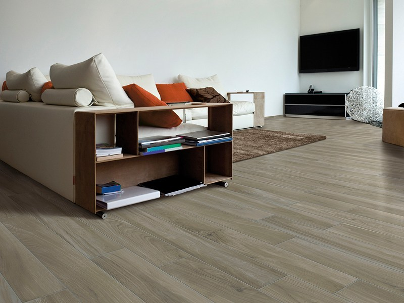 Anti-slip porcelain stoneware flooring with wood effect CHALET by Ceramica Rondine