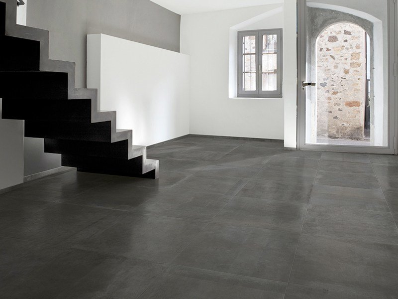 Porcelain stoneware flooring with stone effect ICON by Ceramica Rondine