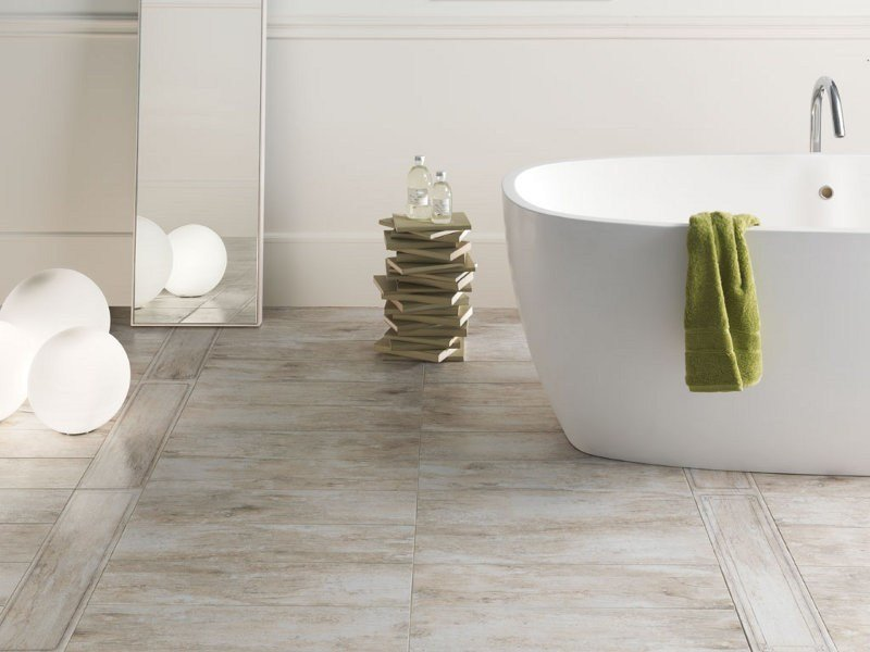 Porcelain stoneware wall tiles / flooring METALWOOD by Ceramica Rondine