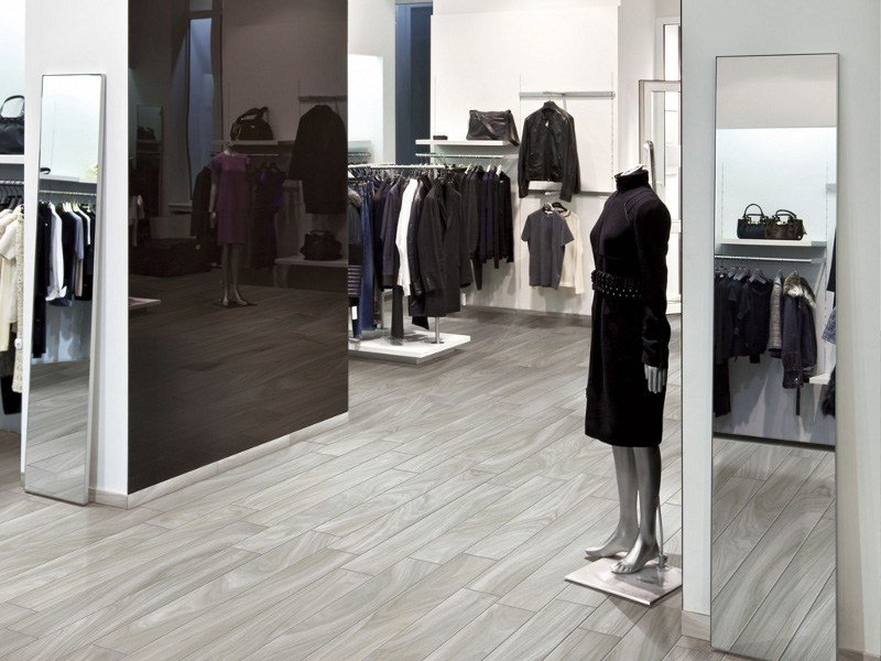 Porcelain stoneware flooring with wood effect NATURALIA by Ceramica Rondine