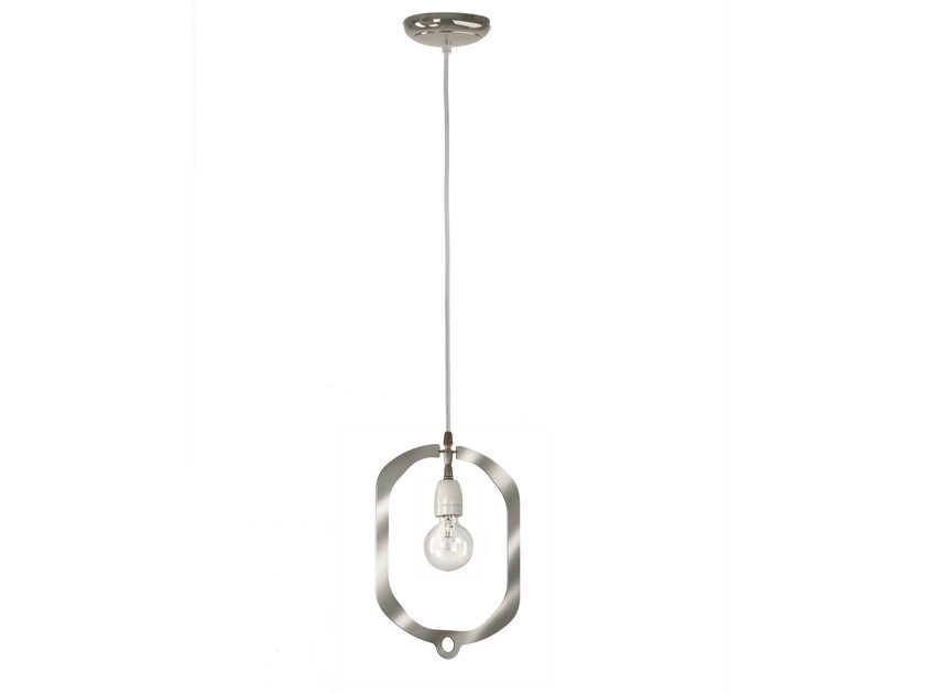 Pendant lamp JEWEL COPPER BC by Hind Rabii