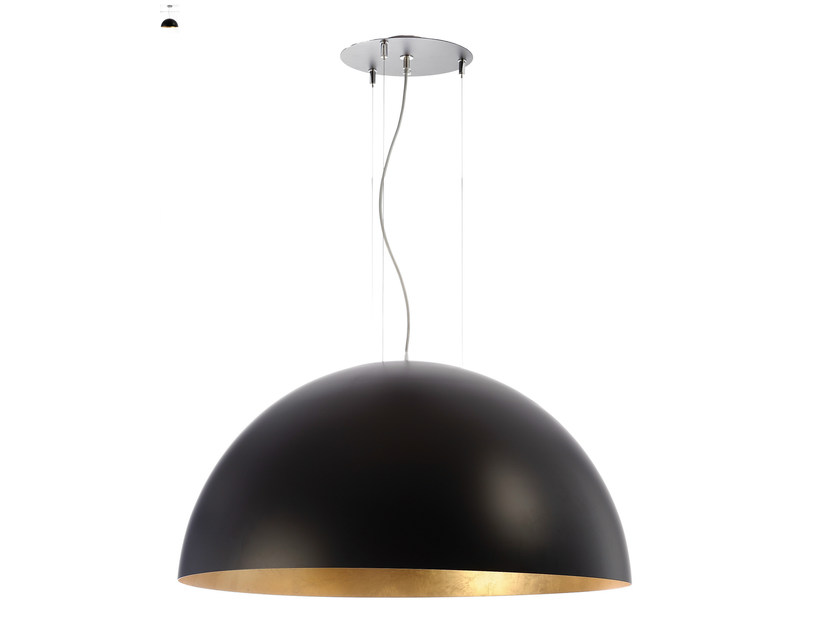 Pendant lamp DOME 800 BG by Hind Rabii