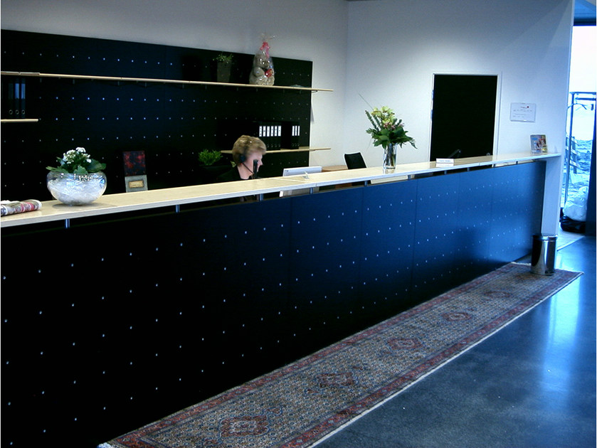 Office reception desk NN SYSTEM | Office reception desk by Onecollection