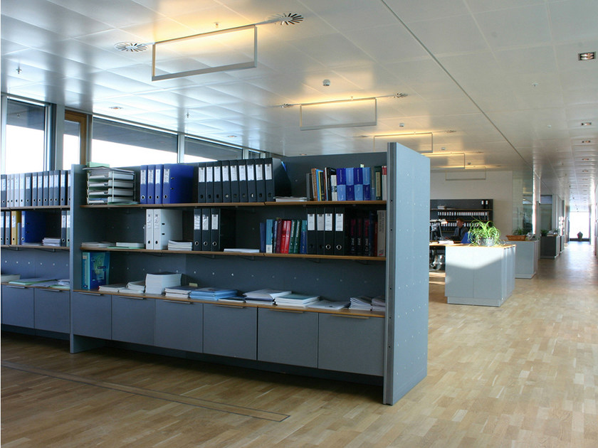 Modular office shelving NN SYSTEM | Office shelving by Onecollection
