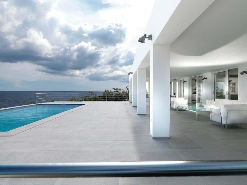 Ceramic outdoor floor tiles Mosa Exterior Flooring System by Mosa