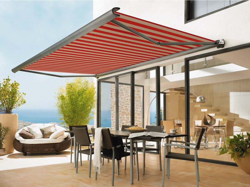 Box Folding arm awning MARKILUX 990 by markilux