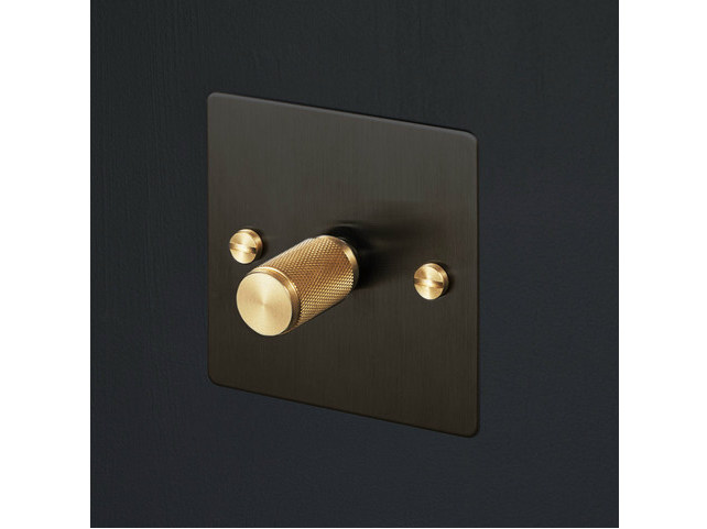 Light Switches Light Switches - Smoked Bronze & Brass by Buster + Punch