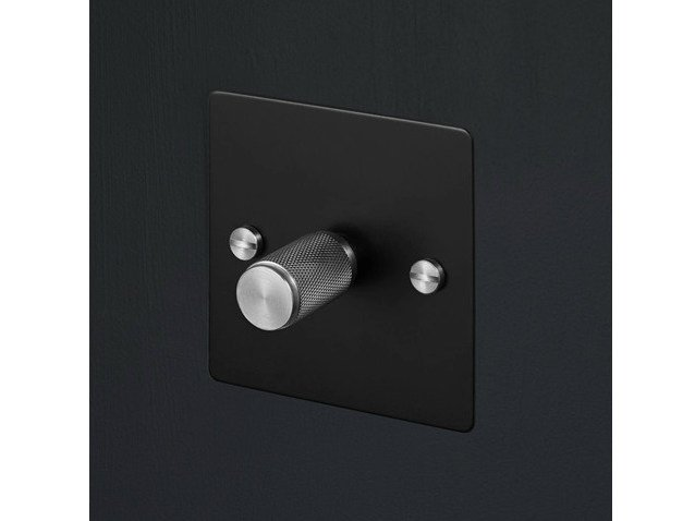 Light switches Light Switches - Black & Steel by Buster + Punch