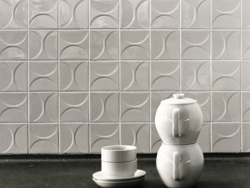 Ceramic 3D Wall Tile MOSA CLASSICS KHO LIANG IE COLLECTION by Mosa