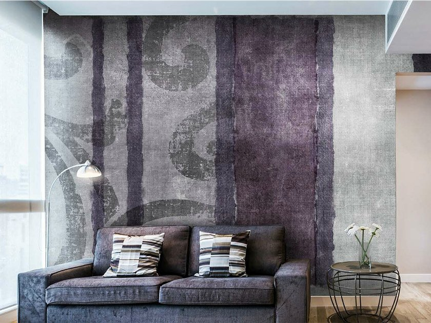 Vinyl or fyber glass wallpaper THERMAS by N.O.W. Edizioni