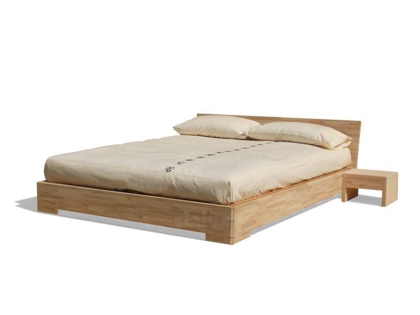Letto contenitore matrimoniale in legno BOXUP By Cinius