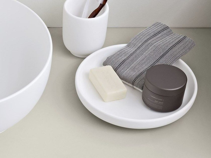 Countertop Korakril™ soap dish JAPAN | Korakril™ soap dish by Rexa Design