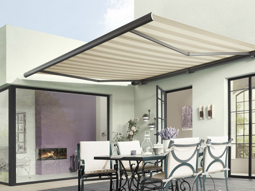 Box Folding arm awning MARKILUX 5010 by markilux