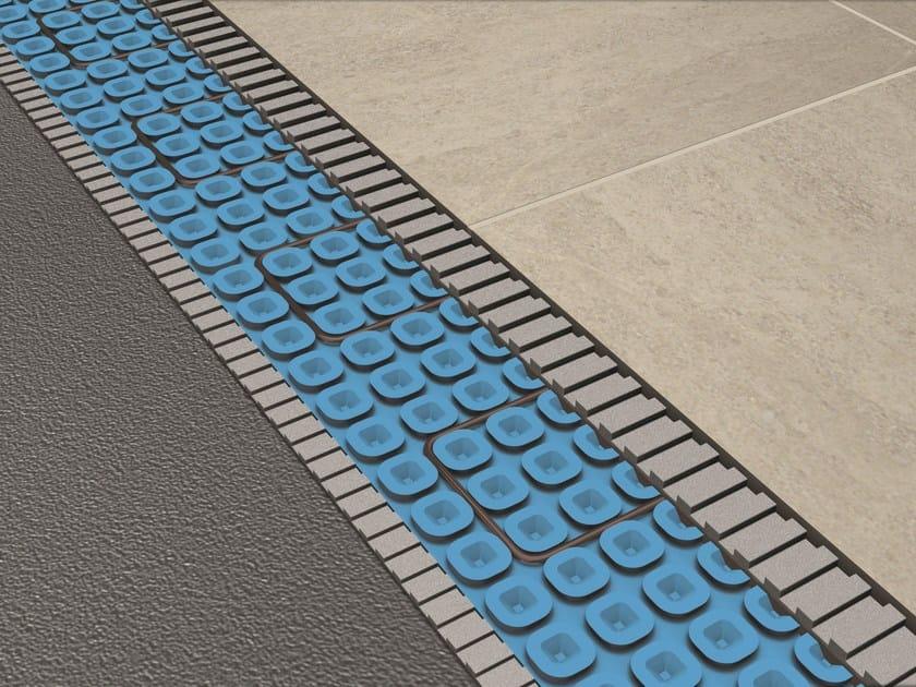 Sistema di riscaldamento a pavimento prodeso heat system by