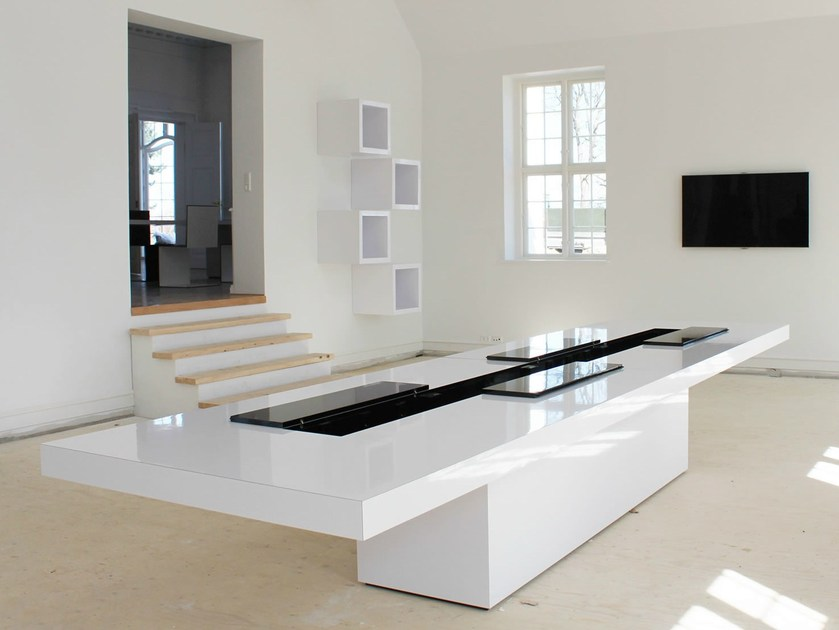 Rectangular meeting table CONGRESSUS by RECHTECK
