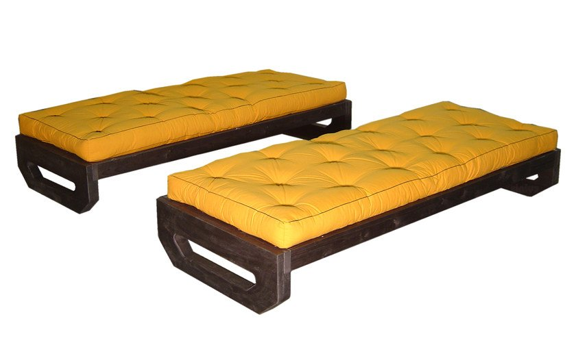 Panca Imbottita Colorata : Panca imbottita in legno ops panca cinius