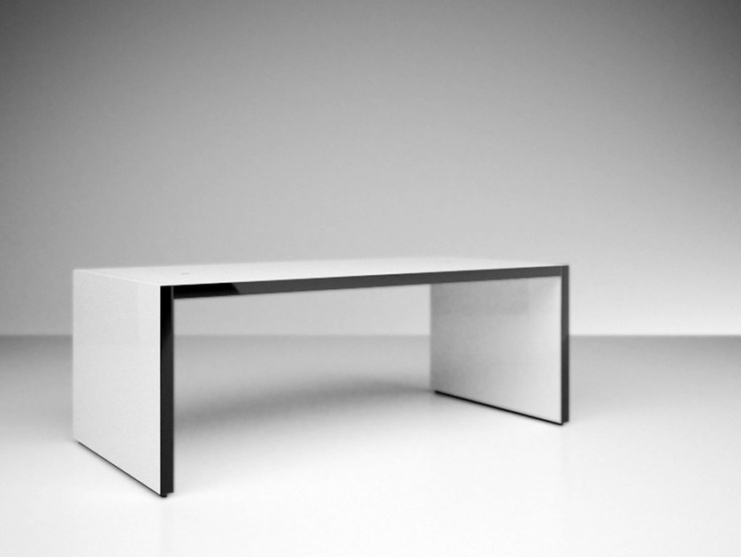Rectangular table FABER by RECHTECK