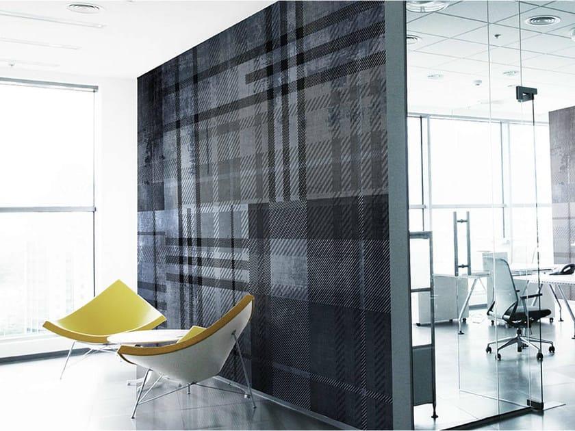 Vinyl or fyber glass wallpaper TWEED by N.O.W. Edizioni