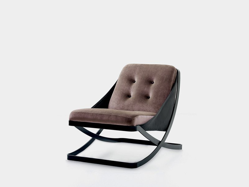 Upholstered armchair REST by Nube Italia