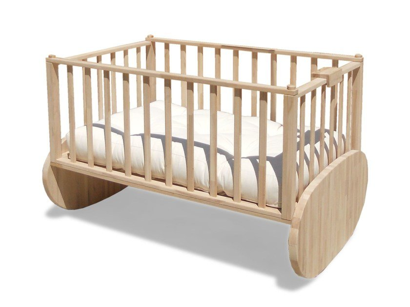 Beech cot MILLY by Cinius
