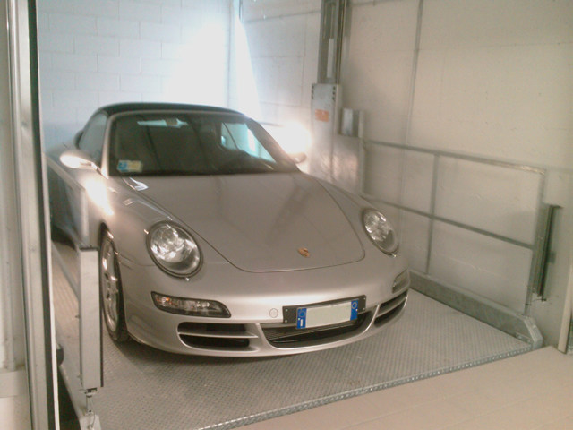 Parking lift IP1-HMT by IDEALPARK
