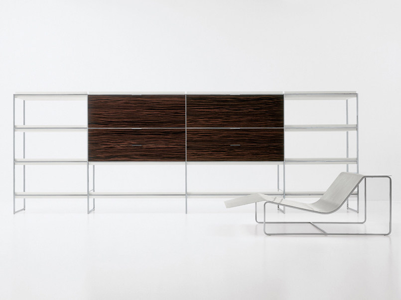 Modular bookcase LINK by Nube Italia
