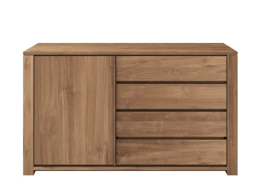 Teak sideboard with drawers TEAK LODGE | Sideboard with drawers by Ethnicraft