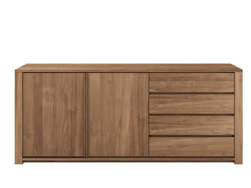 Teak sideboard with drawers TEAK LODGE | Teak sideboard by Ethnicraft