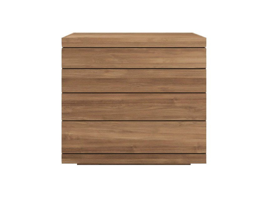 Teak chest of drawers TEAK BURGER | Teak chest of drawers by Ethnicraft