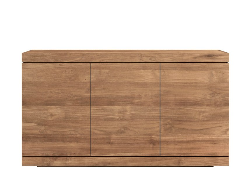 Teak sideboard with doors TEAK BURGER | Teak sideboard by Ethnicraft