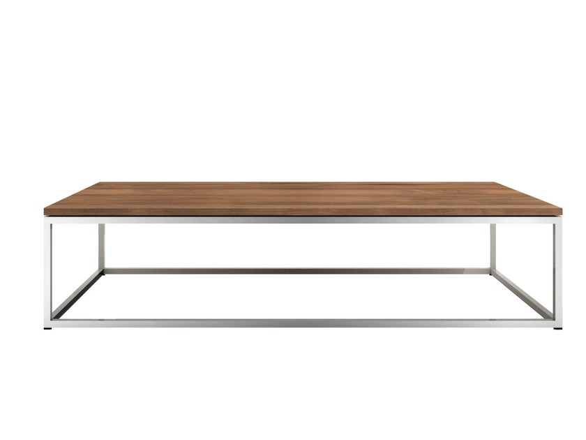 Rectangular teak coffee table TEAK THIN | Teak coffee table by Ethnicraft
