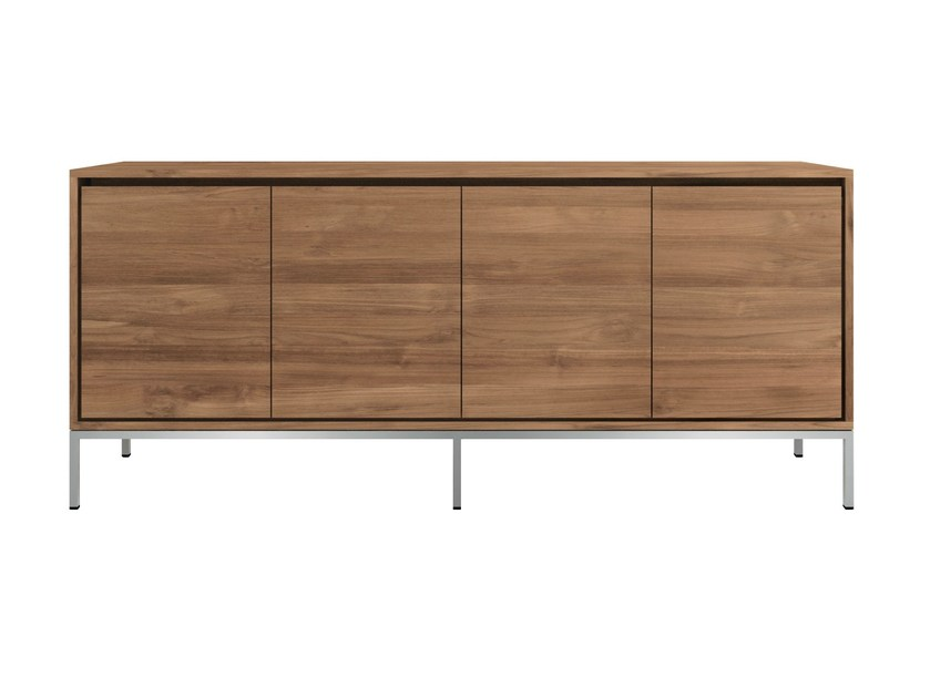 Teak sideboard with doors TEAK ESSENTIAL | Sideboard by Ethnicraft