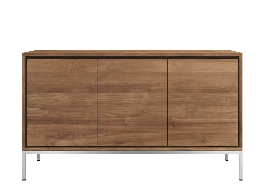 Teak sideboard with doors TEAK ESSENTIAL | Teak sideboard by Ethnicraft