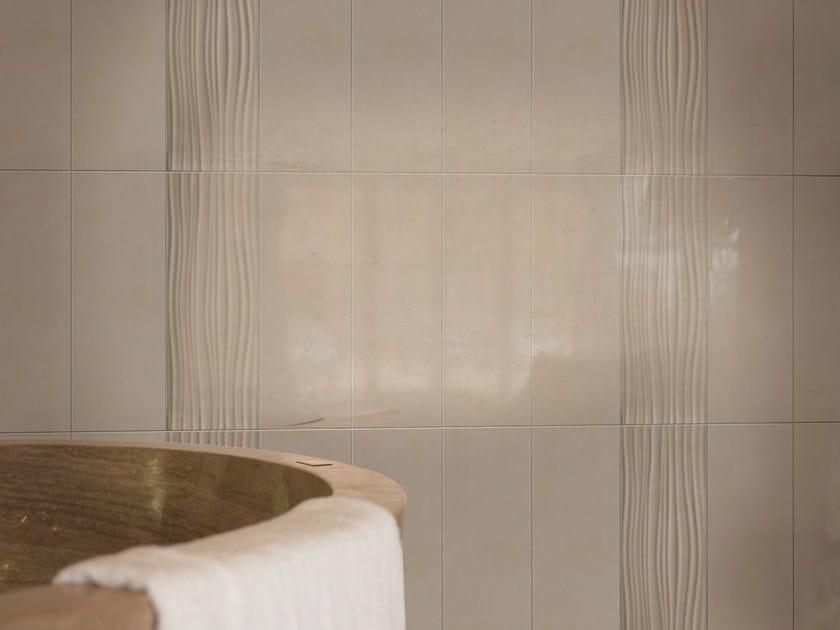 White-paste wall tiles IRIS by ROMAX