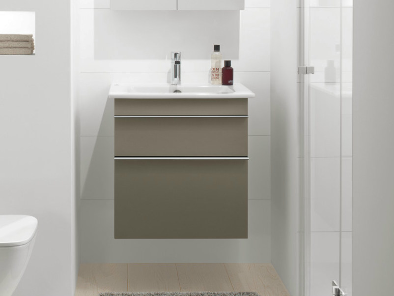 Wall-mounted vanity unit with drawers VENTICELLO | Vanity unit by Villeroy & Boch