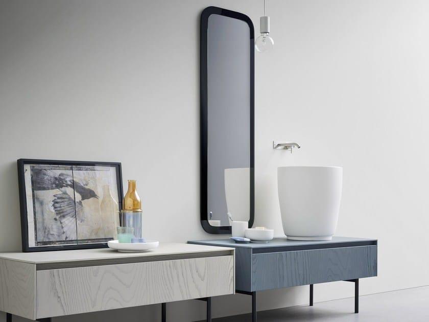 Single ash vanity unit MOODE | Ash vanity unit by Rexa Design